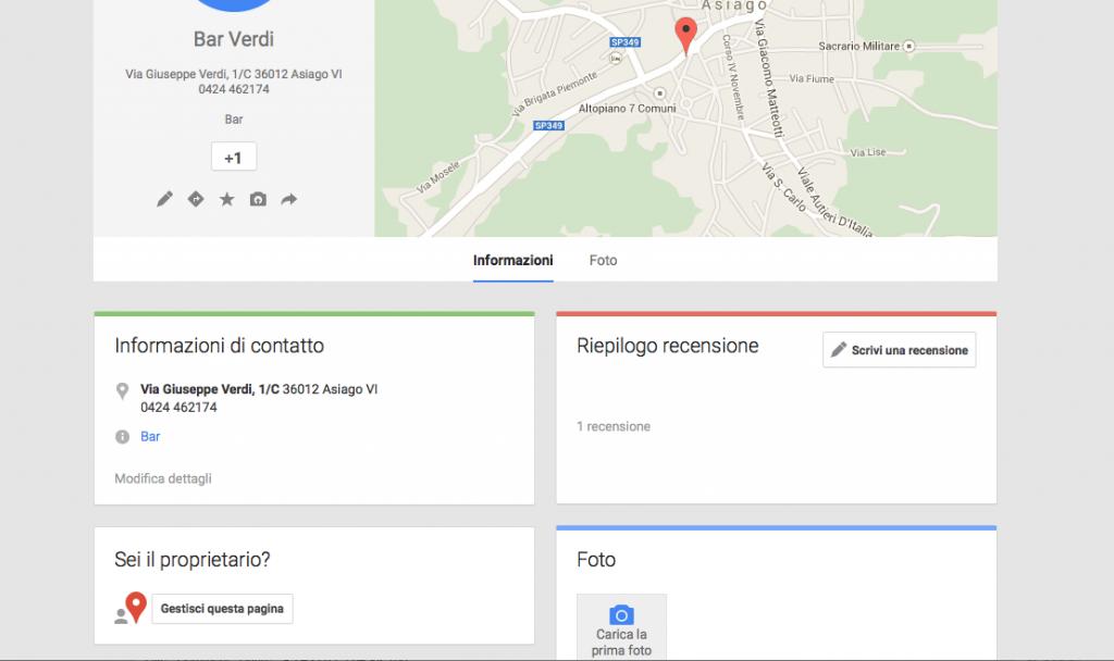 migliora la visibilitàsu google maps